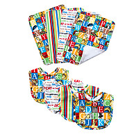 Trend Lab Dr. Seuss Alphabet Seuss Bouquet Bib and Burp Cloth Set