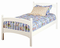 Bolton Furniture Windsor Twin Bed White