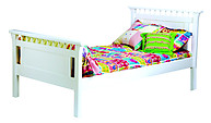 Bolton Furniture Bennington Twin Bed White