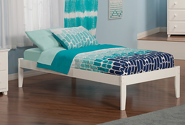 Atlantic Furniture Concord Bed Twin White