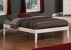 Atlantic Furniture Concord Bed Full White