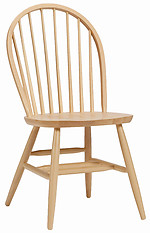 Bolton Furniture Bow Back Chair Natural