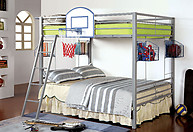 Furniture of America Athlete Bunk Bed Basketball