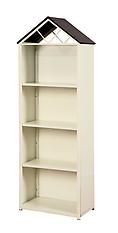 Furniture of America Fortress Bookcase