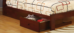Furniture of America Omnus Drawers Cherry