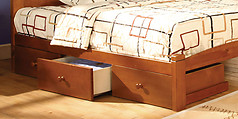 Furniture of America Omnus Drawers Oak
