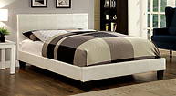 Furniture of America Wallen Bed White