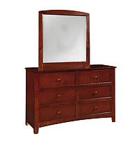 Furniture of America Omnus Dresser Cherry
