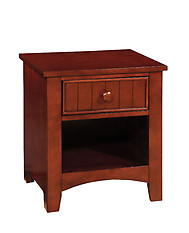 Furniture of America Omnus Nightstand Cherry