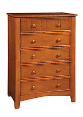 Furniture of America Omnus Chest Oak