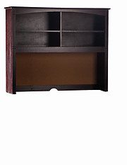Bolton Furniture Essex Desk Hutch Espresso