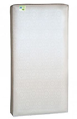Sealy Soybean Everedge Foam-Core Crib Mattress