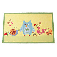 Little Acorn Forest Friends Rug
