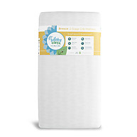 Lullaby Earth Breeze 2-Stage Crib Mattress White