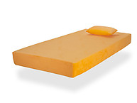 Glideaway Jubilee Youth Memory Foam Mattress Orange