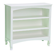 Bolton Furniture Emma Low Bookcase White