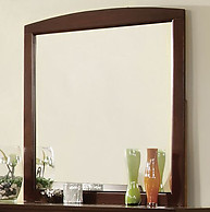 Furniture of America Omnus Mirror Dark Walnut