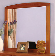 Furniture of America Omnus Mirror Oak