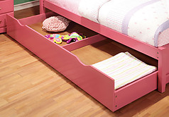 Furniture of America Prismo Trundle Pink