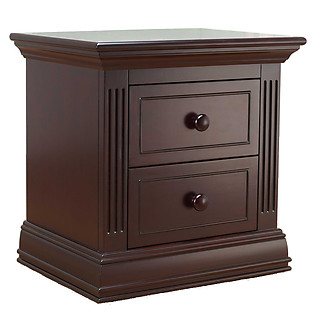 Sorelle Furniture Providence Nightstand Dark Espresso