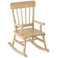 Simply Classic Oak Finish Rocker