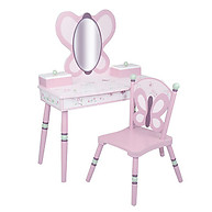 Sugar Plum Vanity Table & Chair Set