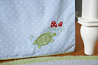 Little Acorn The Wishing Tree Crib Skirt