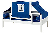 Maxtrix YO 22 Daybed with Back and Front Safety Rails and Top Tent
