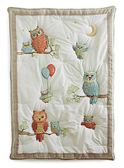 Little Acorn Baby Owls Quilt