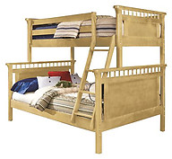Bolton Furniture Bennington Twin over Full Bunk Bed Natural