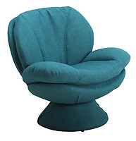Mac Motion Comfort Fabric Leisure Chair Rio Turquoise