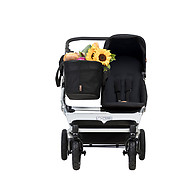 Mountain Buggy Duet as a Single Black