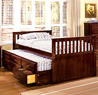Furniture of America Montana Bed Cherry