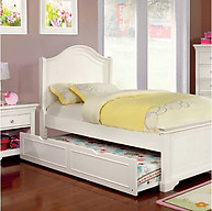 Furniture of America Mullan Low Footboard Bed