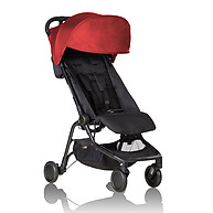 Mountain Buggy Nano Travel Stroller Ruby