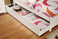 Furniture of America Prismo Trundle White