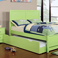 Furniture of America Prismo Bed Green