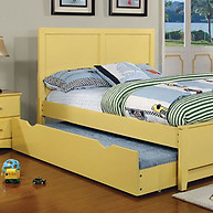 Furniture of America Prismo Bed Yellow