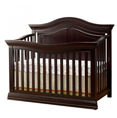 Sorelle Furniture Providence 4 in 1 Crib Dark Espresso