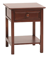 Bolton Furniture Wakefield 1 Drawer Nightstand Cherry