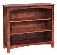 Bolton Furniture Wakefield LowLoft Bookcase Cherry