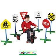 Guidecraft Drivetime Signs Set of 6
