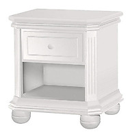 Sorelle Furniture Vista Elite Nightstand White