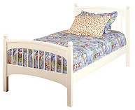 Bolton Furniture Windsor Full Bed White